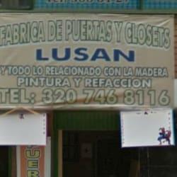 Fabrica de Puertas y Closets Lusan en Bogotá