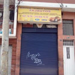 Fajautos en Bogotá