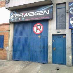 Ferwagen en Bogotá