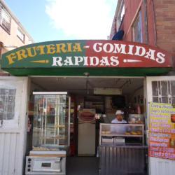 Frutería y Comidas Rápidas en Bogotá