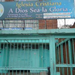 iglesia Cristiana a Dios sea la Gloria en Bogotá