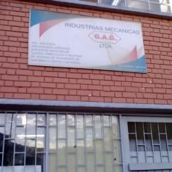 Industrias Mecanicas G.A.G en Bogotá