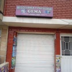 Miscelánea y Papelería Gema en Bogotá