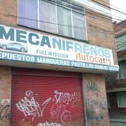 Mecanifrenos Autocar's en Bogotá