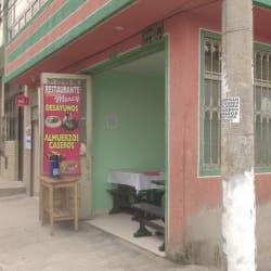 Restaurante Donde Mercy en Bogotá
