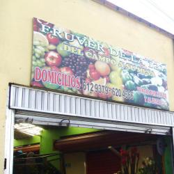 Fruver de la 121 en Bogotá