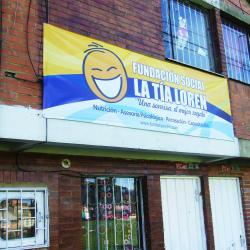 Fundación Social a la Tía Loren en Bogotá