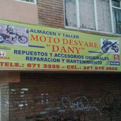 Motodesvare Danny en Bogotá