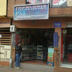 Papelería Fotocopias Galerías en Bogotá