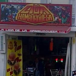 La Liga de la Hambruguesa  en Bogotá