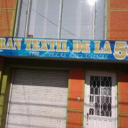 Gran Textil de la 50 en Bogotá