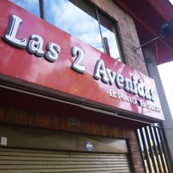 Las 2 Avenidas El Punto del Sabor en Bogotá