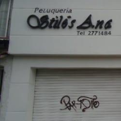 Peluquería Stilós Ana en Bogotá