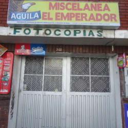 Miscelánea El Emperador en Bogotá