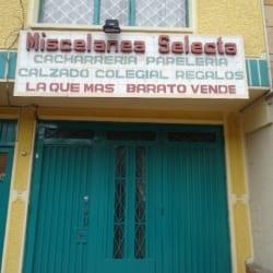 Miscelánea Selecta en Bogotá