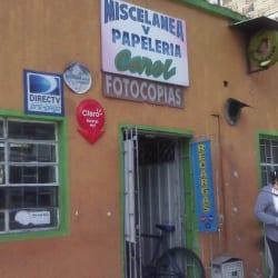 Miscelánea y Papelería Carol en Bogotá