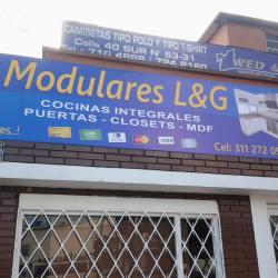 Modulares L y G en Bogotá