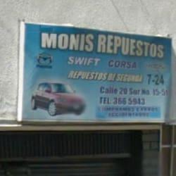 Monis Repuestos en Bogotá