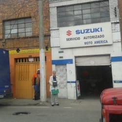 Moto América en Bogotá