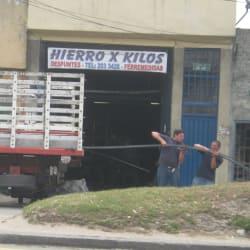 Hierro x Kilos en Bogotá