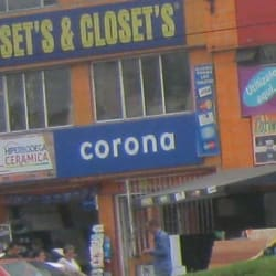 Hiper Bodega Cerámicas Corona en Bogotá