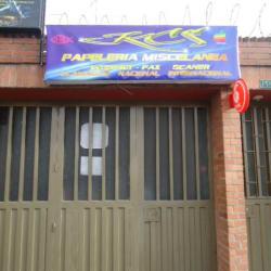 Papelería Miscelánea Calle 3 en Bogotá