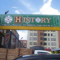 History en Bogotá