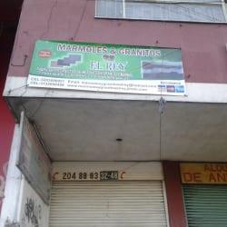 Marmoles y Granitos El Rey en Bogotá