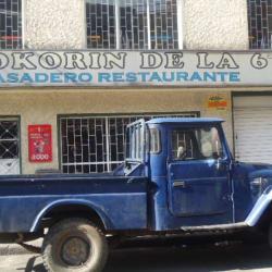 Kokorin de la 6 en Bogotá