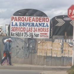 Parqueadero La Esperanza en Bogotá