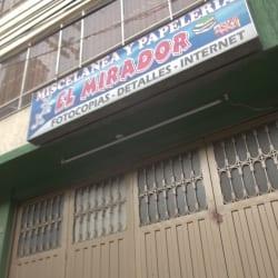 Miscelanea y Papeleria El Mirador en Bogotá