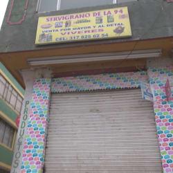 Servigrano de la 94 en Bogotá