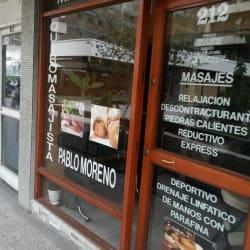 Masajes Pablo Moreno en Santiago