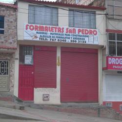 Formaletas San Pedro en Bogotá