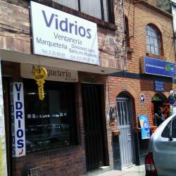 Vidrios Ventaneria en Bogotá