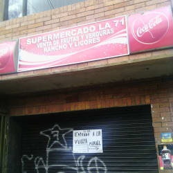 Supermercado la 71 en Bogotá