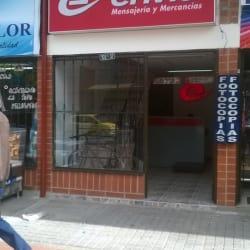 Envía Mensajeria y Mercancias en Bogotá