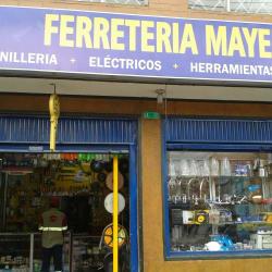 Mayer en Bogotá