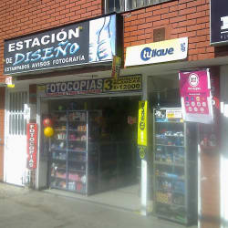 Papelería Estación de Diseño en Bogotá