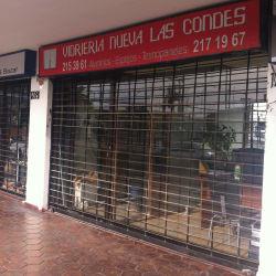 Vidriera Nueva Las Condes en Santiago