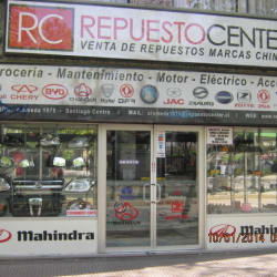 Repuestos Center en Santiago