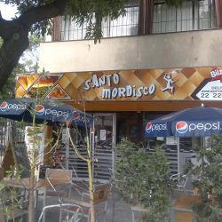 Santo Mordisco en Santiago