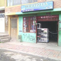 Bicicletas C.E.G en Bogotá