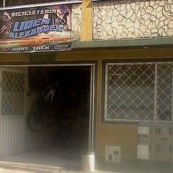 Líder Alexander Bicicleteria en Bogotá