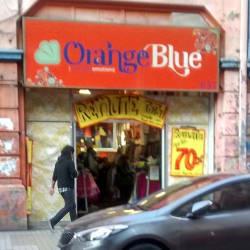 Orange Blue - Bandera en Santiago