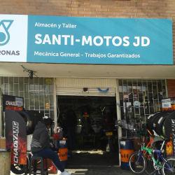 Santi Motos en Bogotá