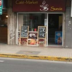 Café Market Suecia en Santiago