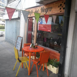 Café del Negro en Santiago