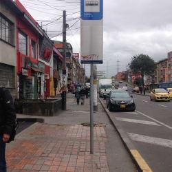 Paradero SITP Barrio Galerías - 038A00 en Bogotá