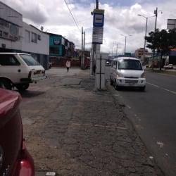 Paradero SITP Barrio Alcázares Norte - 335A00 en Bogotá